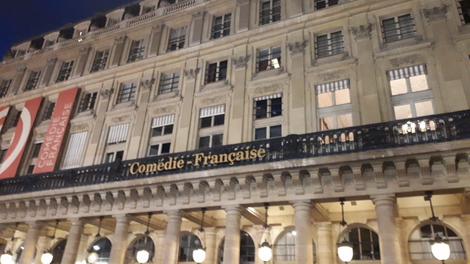 Comedie Francaise Calendrier.Sortie A La Comedie Francaise College Henri Wallon Ivry